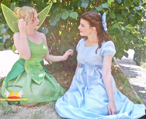 Tinkerbell ft Wendy Cosplay