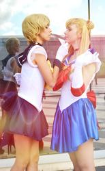 Sailor Moon x Sailor Uranus (Cosplay)