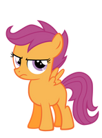 Annoyed Scootaloo by Pilot231