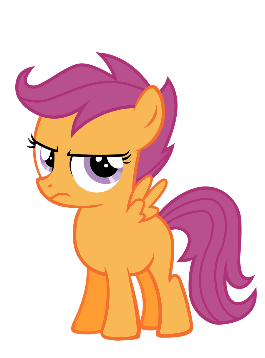 Annoyed Scootaloo by P...