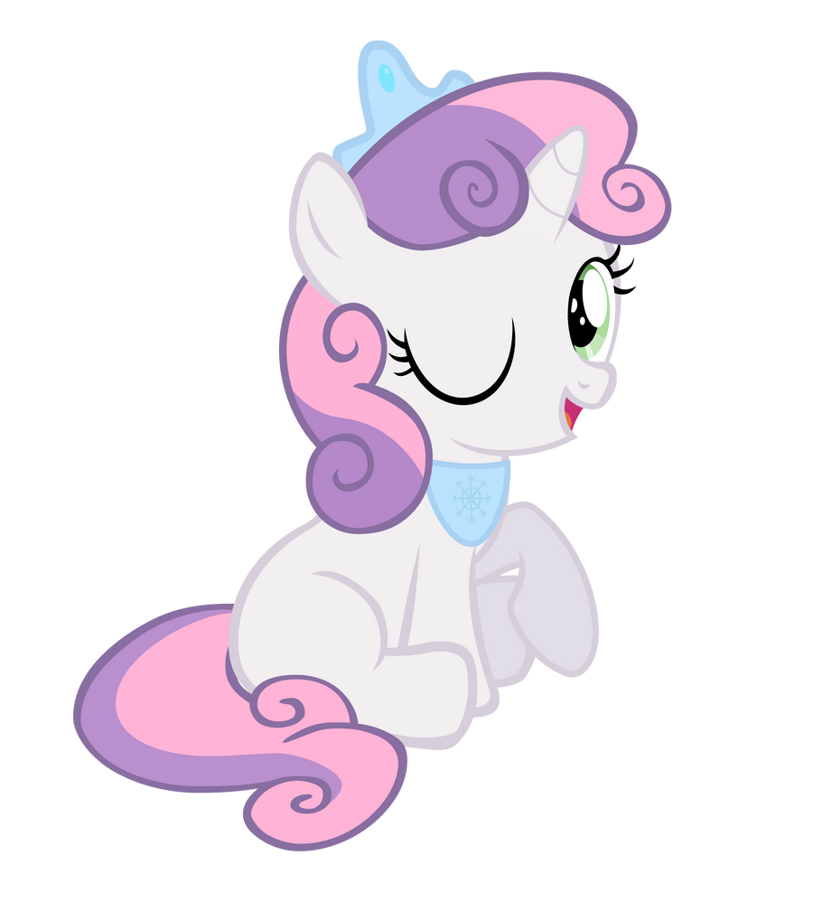 Sweetie Belle (Fantasy Snow Princess) by Pilot231