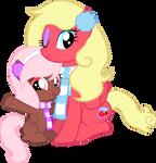 :PC: Seasonal Blushie and Raspberry
