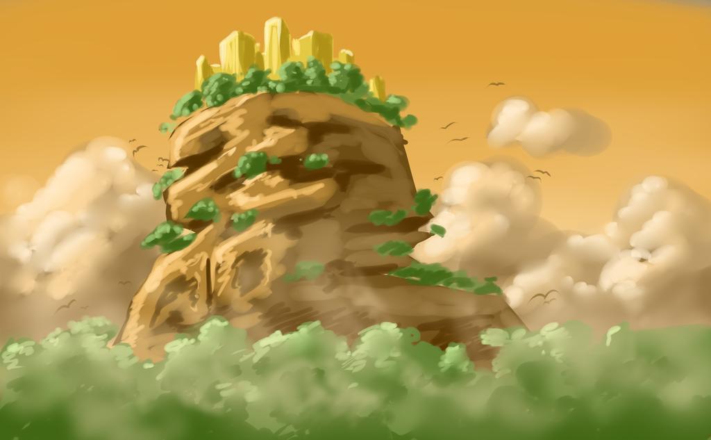 Pillar Mountain by KingAgrian