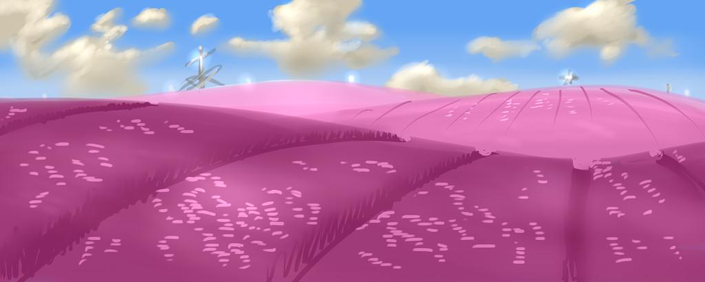 Alien Flower Fields by KingAgrian