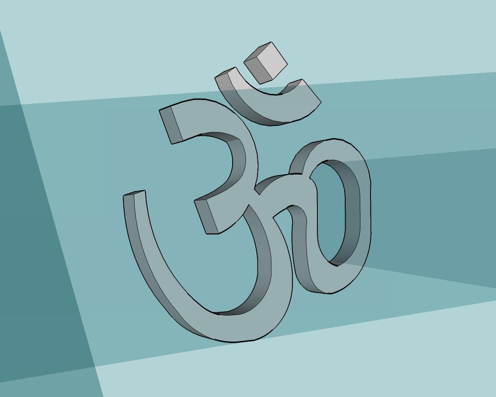 3d Om By Puvan On Deviantart