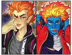 (MH Fanart) Chaotic boys