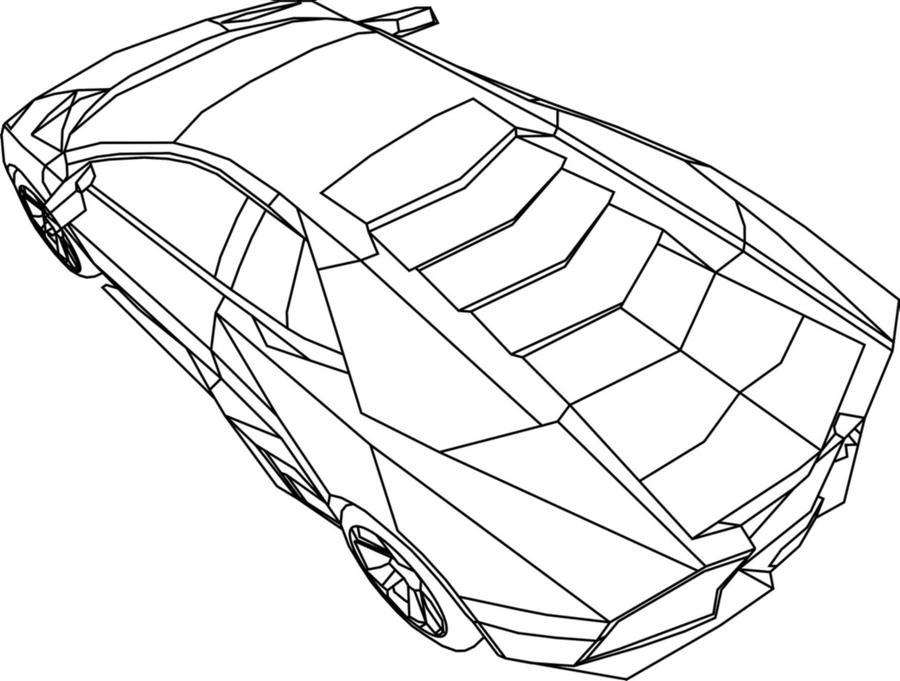 Lamborghini Reventon Outline By Coddfootwalker On Deviantart