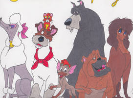 Oliver and Company by LunaRose01