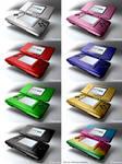 Nintendo DS colors.
