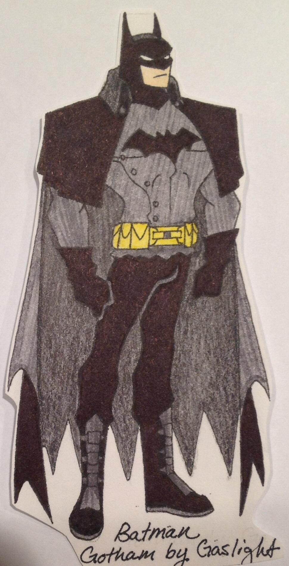 Batman Gotham By Gaslight By Trmartin0919 On Deviantart