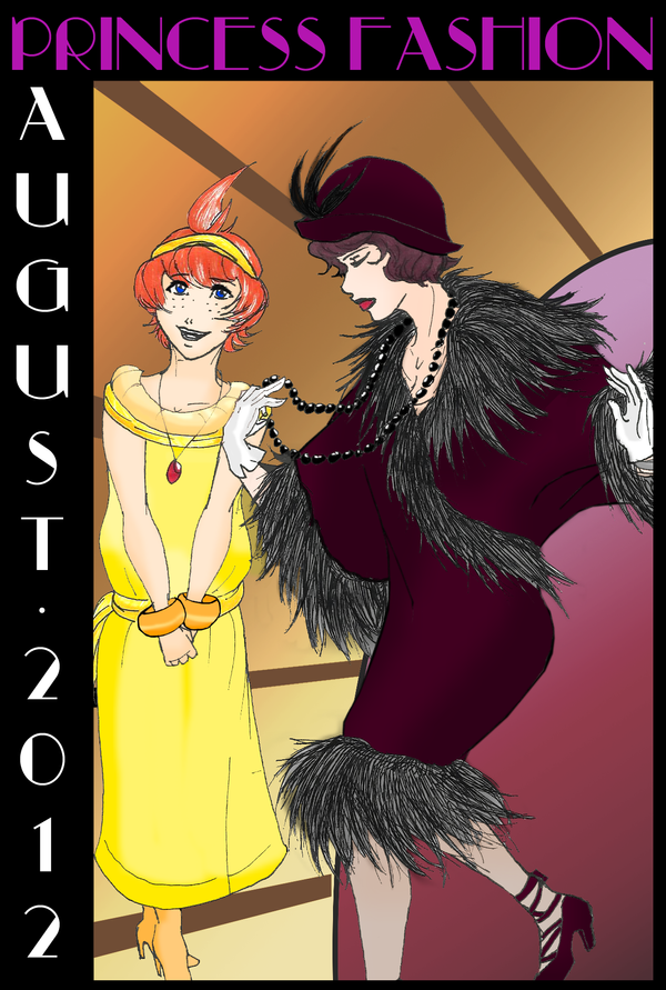 Princess Tutu: Jazz Age Fashion by AteMozzarella