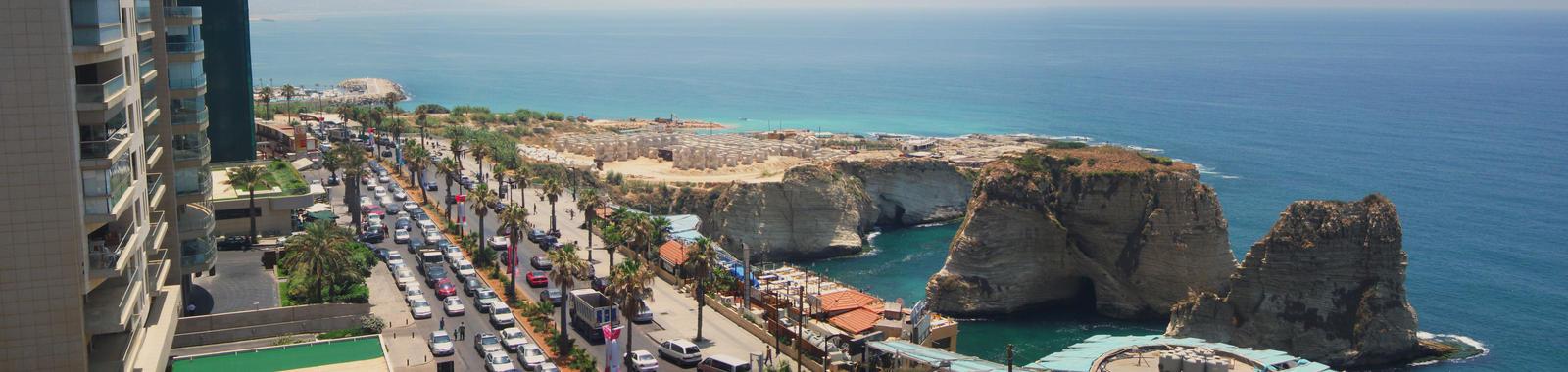 Raouche Rock - Beirut, Lebanon by SerenissimaLuna