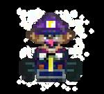 Super Mario Kart - Waluigi
