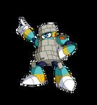 Nobody blocks Block Man!