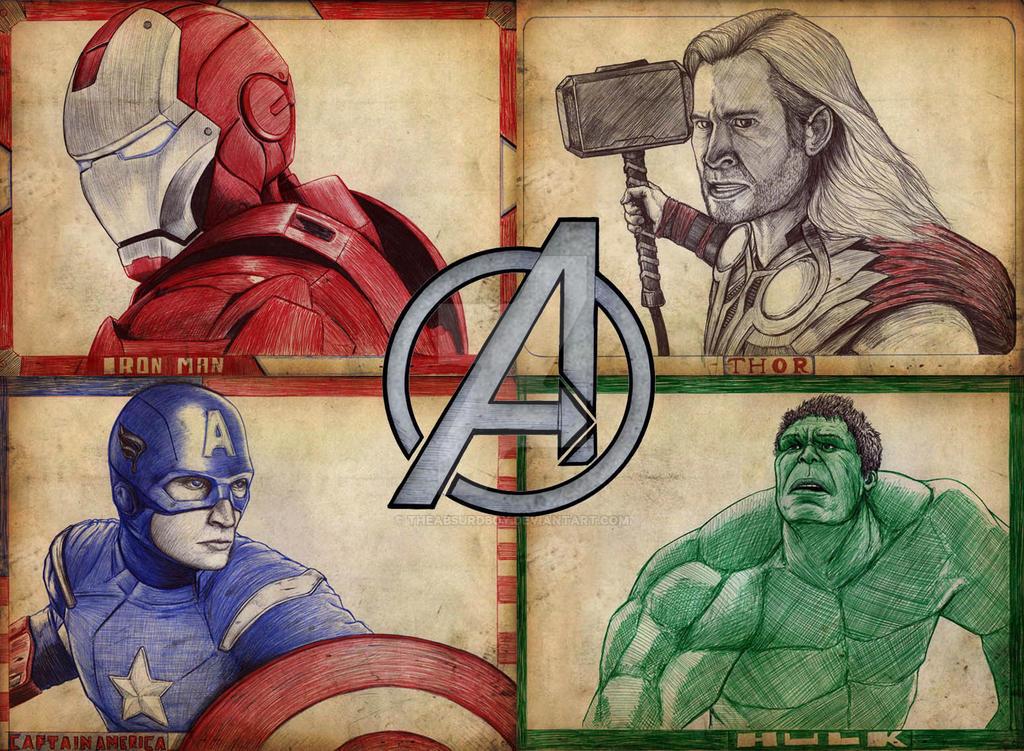 The Avengers by TheAbsurdBoy