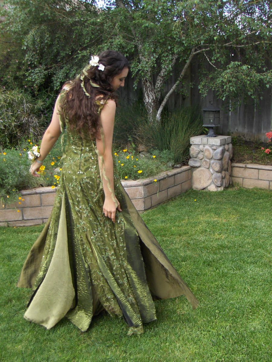 Fairy prom dress by chocobojockey on deviantart