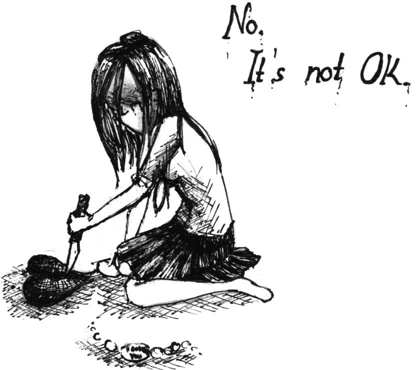 Emo Heartbroken Drawings Emo Broken Heart Drawings