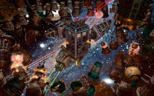 Time Bomb: Elite Battle Tardis Mode - Engaged by Lemiken7