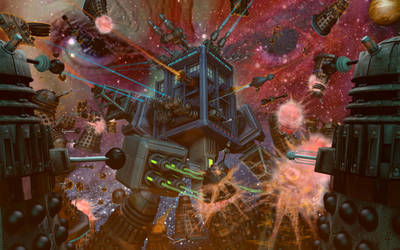 Elite Battle Tardis In The Thick of It by Lemiken7