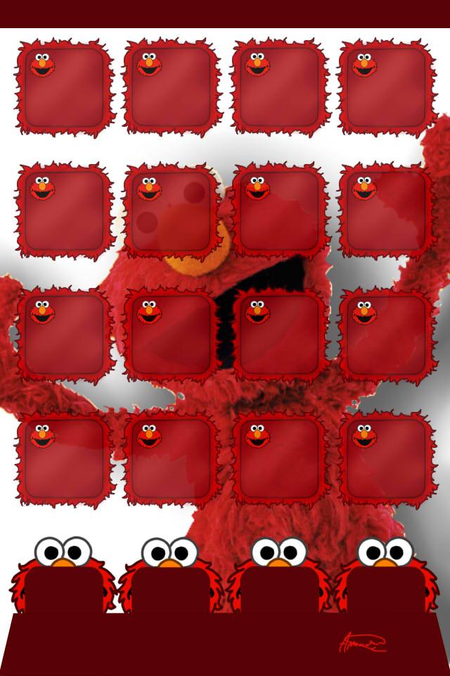 Elmo Background By AmanDaMoustache