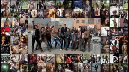 The Walking dead (AMC) background