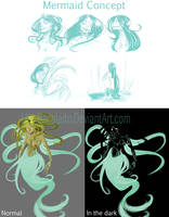 Mermaid Concept by Uty-Bacalaito