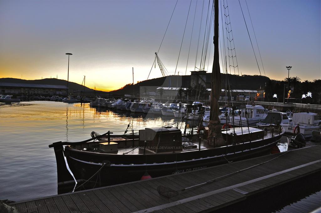 Atardecer en Ferrol / Sunset in Ferrol by JorgeAracil