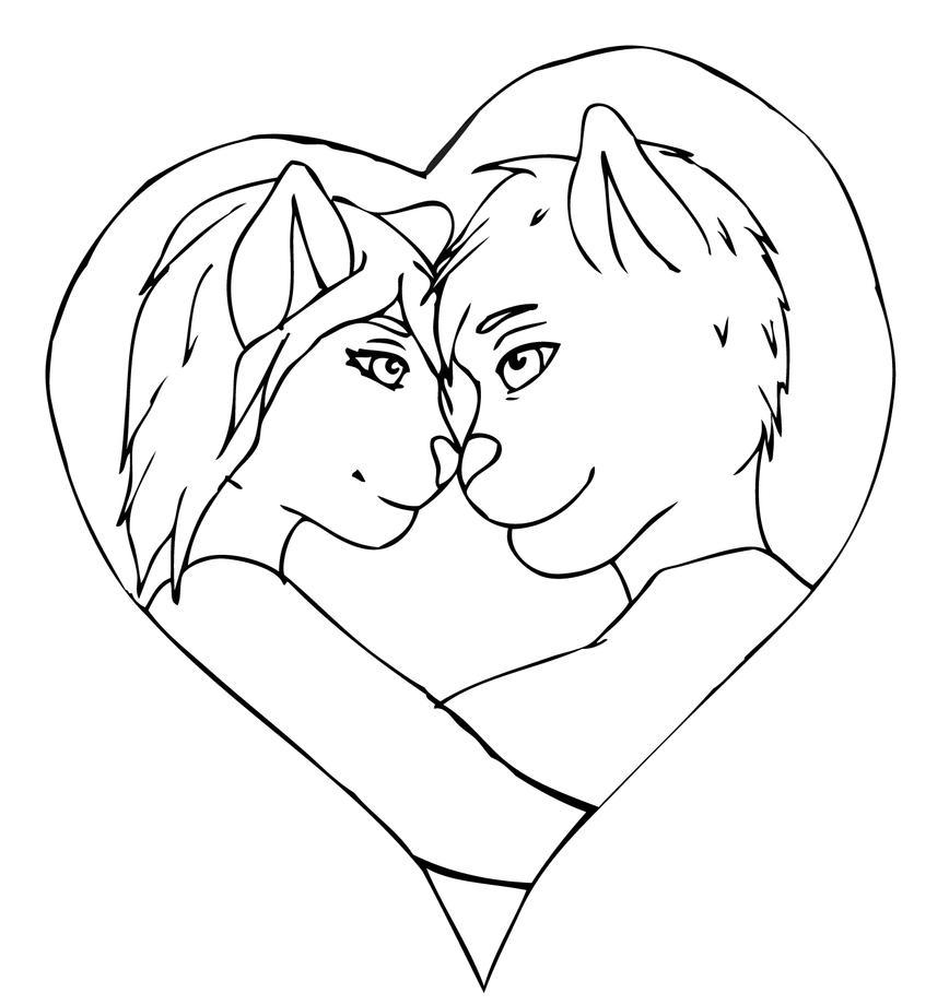 Line Art Love Images : Love line art by lildevilchild on deviantart