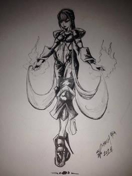 Lola (Afro Samurai Style)