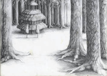 Woodland Home by Anamia