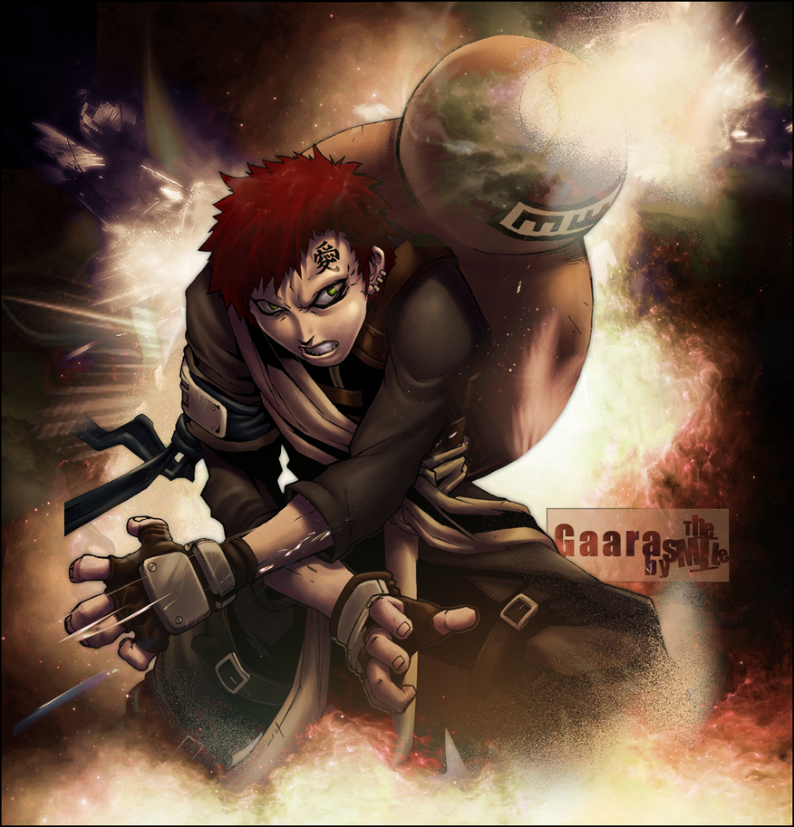 Gaara By SMlLE On DeviantArt