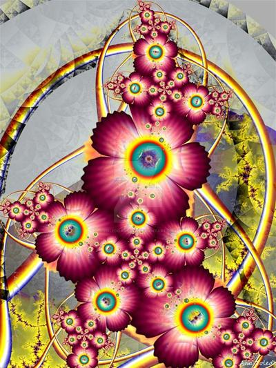 Flor con arco by toledoarauxo