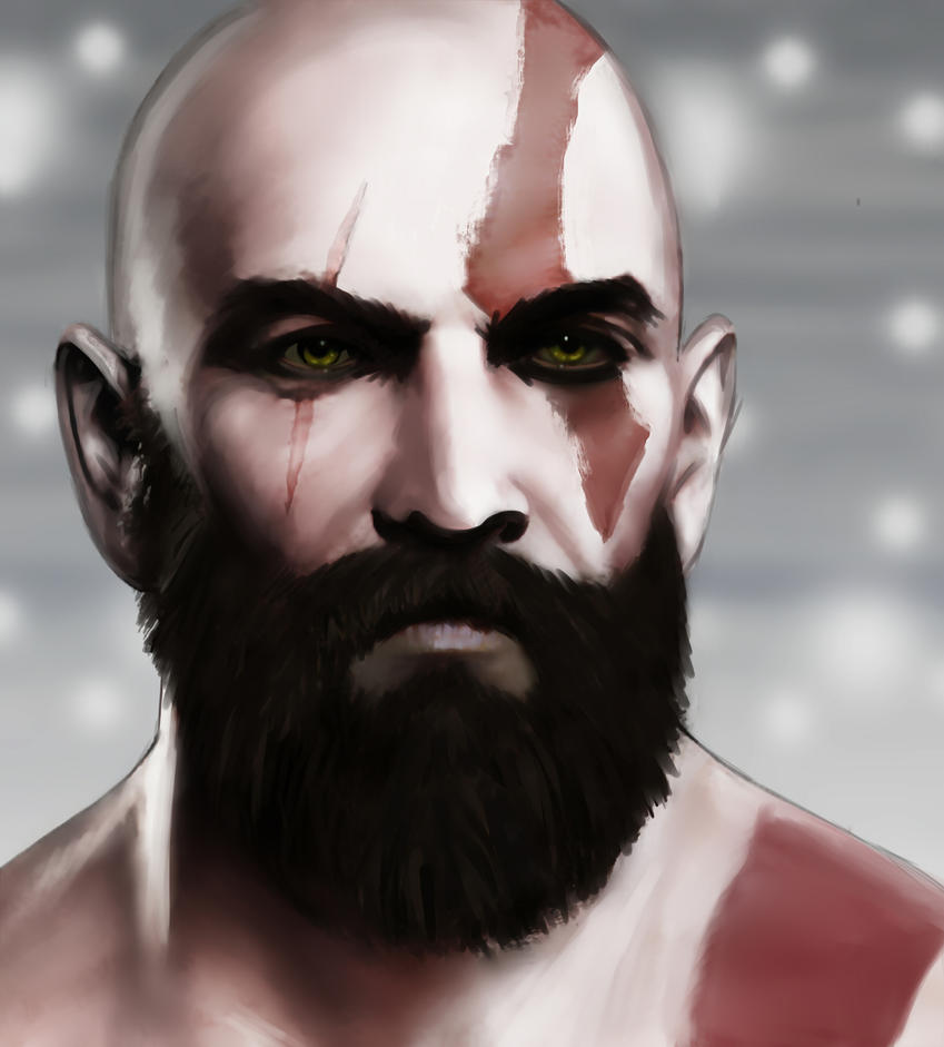Kratos by LJ-Phillips