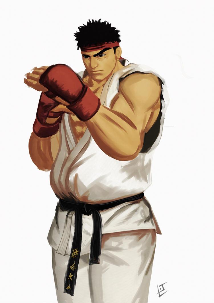 Ryu by LJ-Phillips