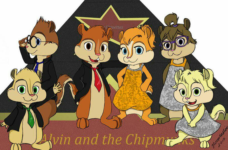 The Chipmunks And The Chipettes On Concert By