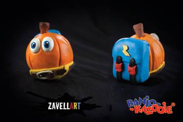 Pumpkin Banjo by Zavellart