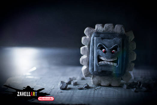 Thwomp! There it is!