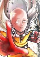 Saitama | One Punch Man  *\(^o^)/* by Sh0tisha