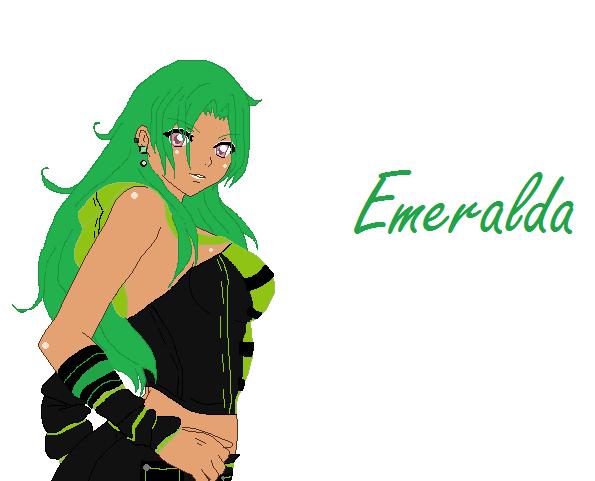 OC Emeralda by KadajGotsGame