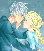 jack and elsa by Appleonz