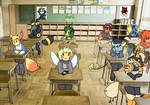 Substitute teacher (ANIMATIC)