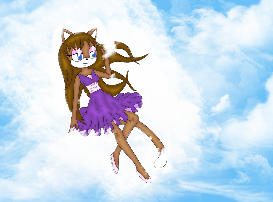 AT: Mia in the clouds by ritinha2