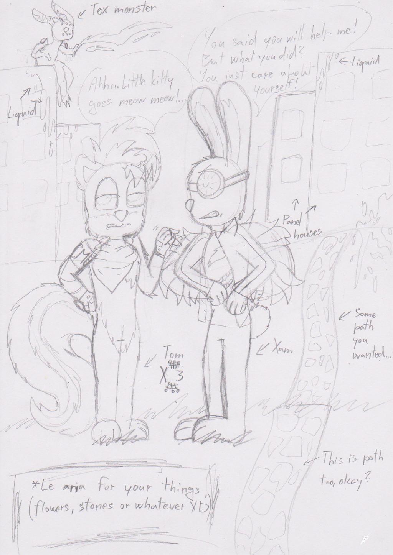 Tom and Xam {Sketch} by ZalyHeartlessTigress