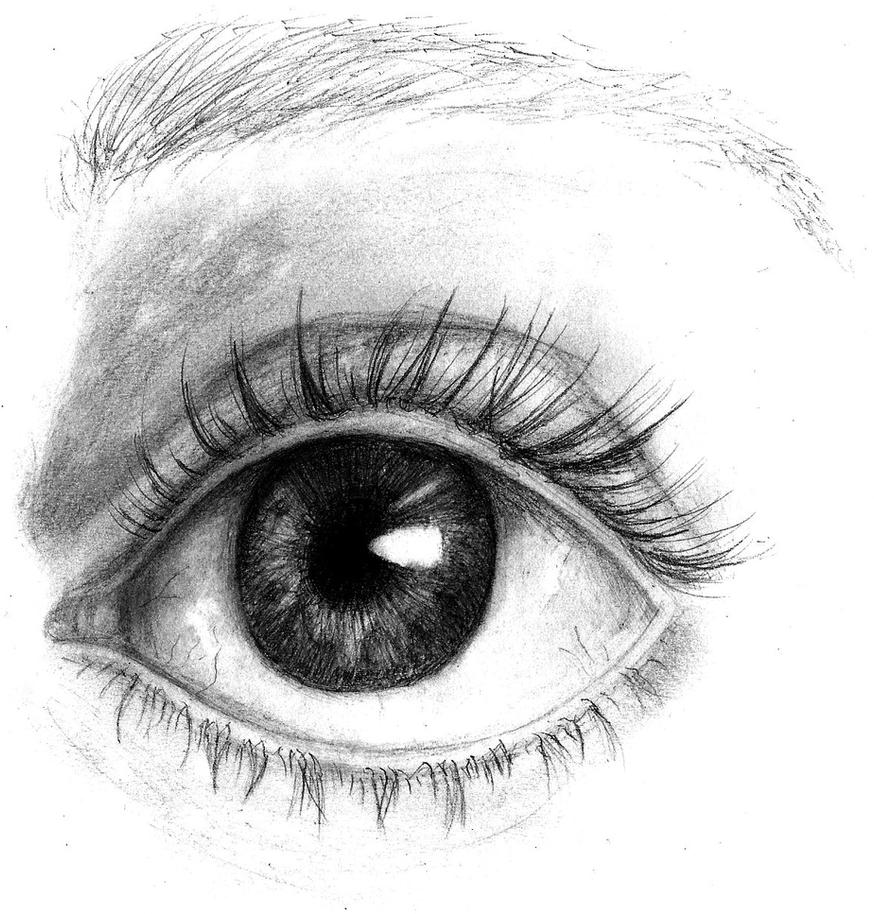 I have got my eye on you (Old drawing) by ZalyHeartlessTigress