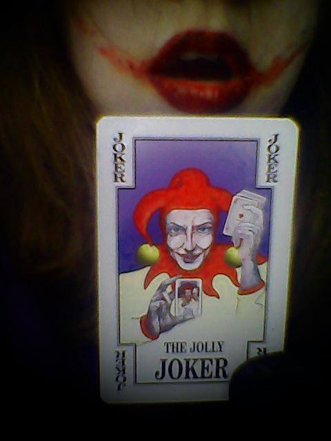 The Jolly Joker tehehee by ZalyHeartlessTigress