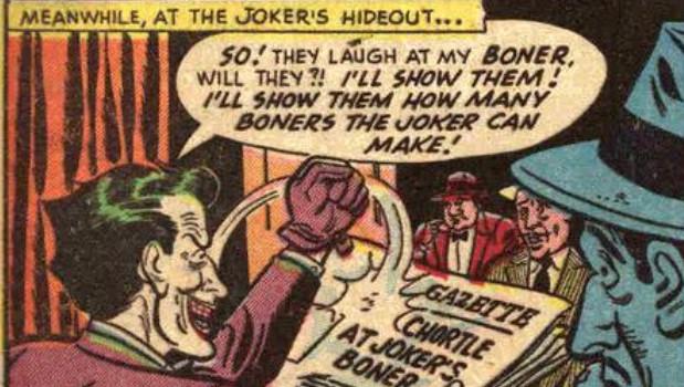 Joker and his boners by ZalyHeartlessTigress