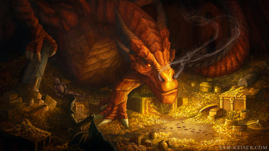 Smaug by Dawn-Of-Anarchy