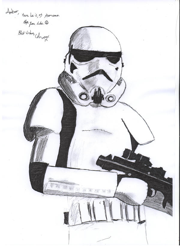 Stormtrooper by Delta-SixSevenNineOh