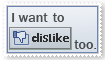 DisLike Stamp by krokus00