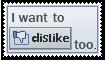 DisLike Stamp by krokus00